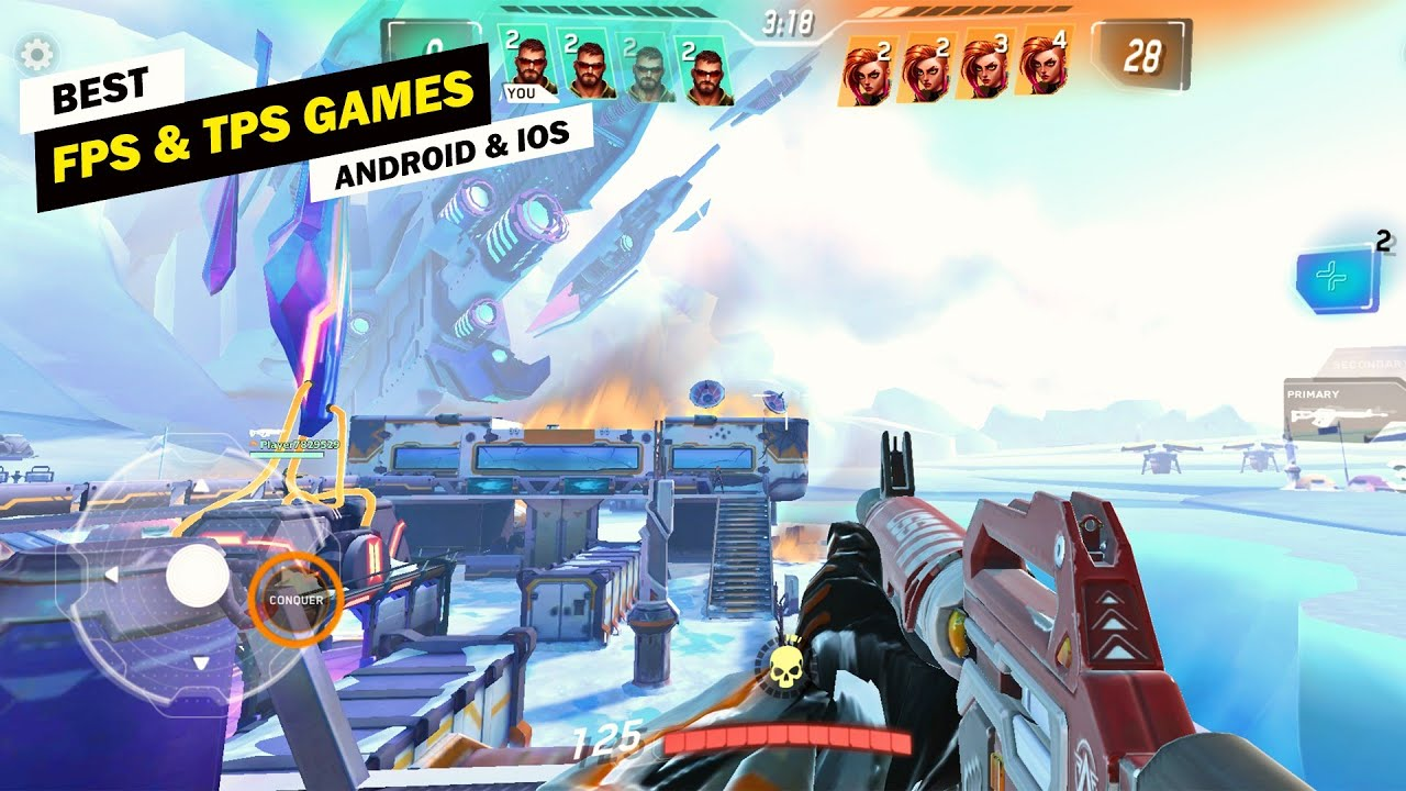 Top 10 FPS & TPS Games for Mobile! [Offline/Online]