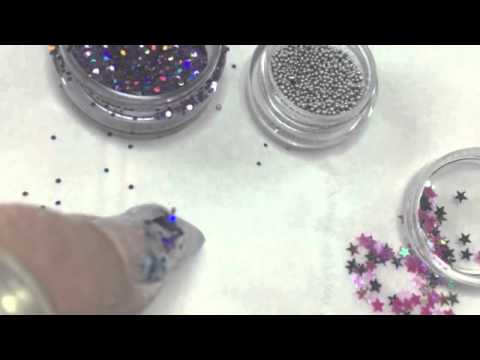 Aquarium Water Bubble Nail Art Step By Step Youtube