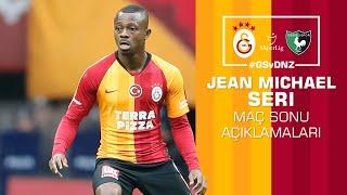 🎙 Jean Michaël Seri'den maç sonu açıklamaları. #GSvDNZ