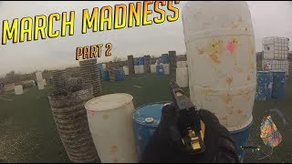 Airsoft March Madness Part 2 Ares Honey Badger gameplay