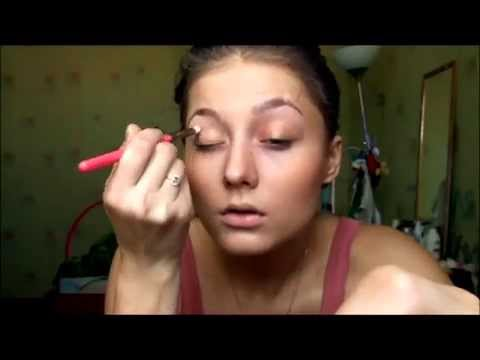 Дневники вампира/Макияж Нины Добрев /Кэтрин/Helloween /makeup transformation/ Nina Dobrev