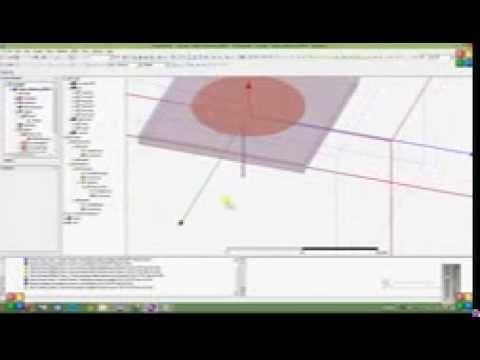 Circuler patch antenna by HFSS kit tool part 2