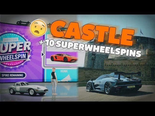 EDINBURGH CASTLE + 10 Super Wheelspins!!! #ForzaHorizon4 • #Schweizerdeutsch ✘ CaliSpielt