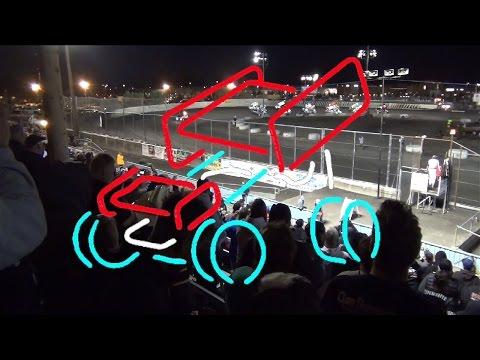 Civil War Series 360 Sprints MAIN 9-26-15 Petaluma Speedway - dirt track racing video image