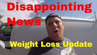 Disappointing News About Van Living On The Road & Weight Loss Challenge Update