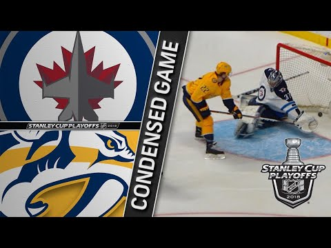 04/29/18 Second Round, Gm2: Jets @ Predators