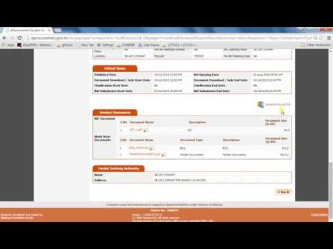 E TENDER 5 HOW TO SEARCH TENDER