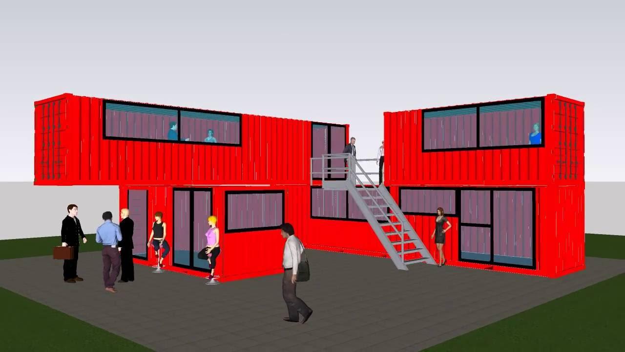 Container Ufficio Piccolo : Container casa abitazione uffici negozi eventi stand villaggi