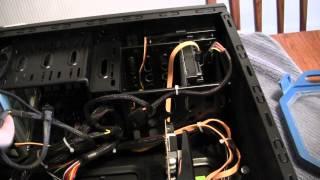 corsair tx750 psu installation video avi