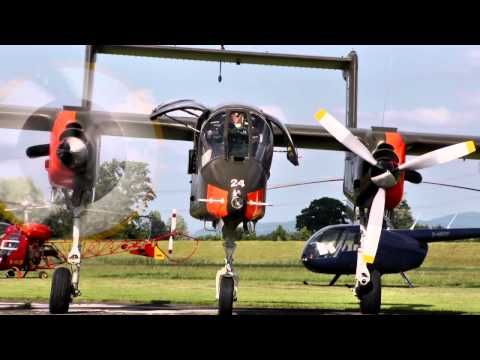 Bronco OV10B North American Rockwell at the Kehl airshow