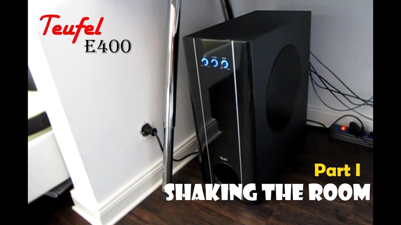 teufel concept e400 shaking the room part i youtube. Black Bedroom Furniture Sets. Home Design Ideas