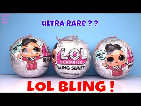 LOL BLING Series Surprise Dolls Unboxing NEW Ultra RARE Blind Bags
