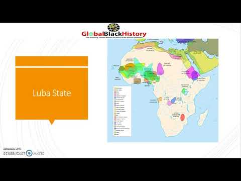 14th Century Luba Kingdom in Central Africa