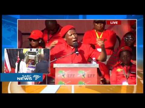 Malema addresses 4th EFF Anniversary celebrations