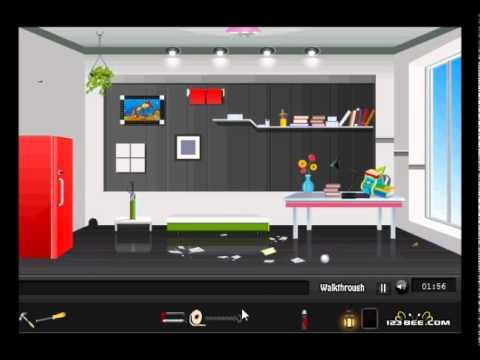 Modern Room Escape  Walkthrough