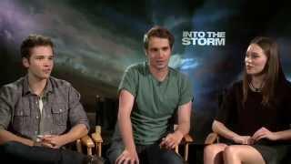 Nathan Kress, Max Deacon and Alycia Debnam Carey on surviving