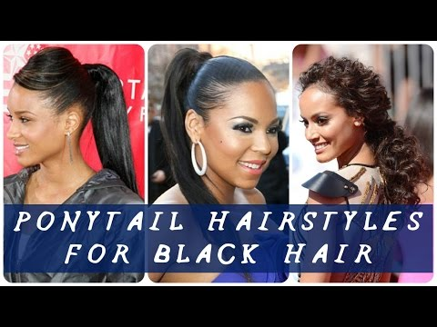 30 Best ponytail hairstyles for black hair