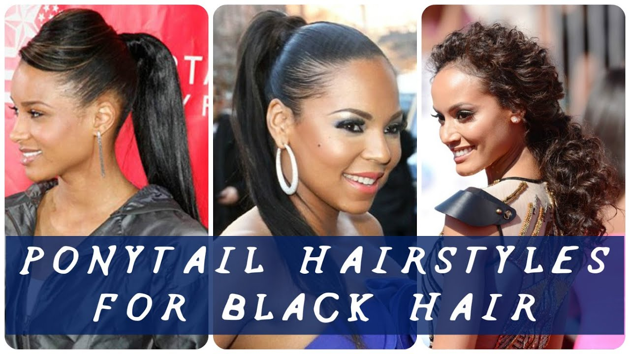 best haircuts for black hairstyle for 30 best ponytail hairstyles for black hair 30
