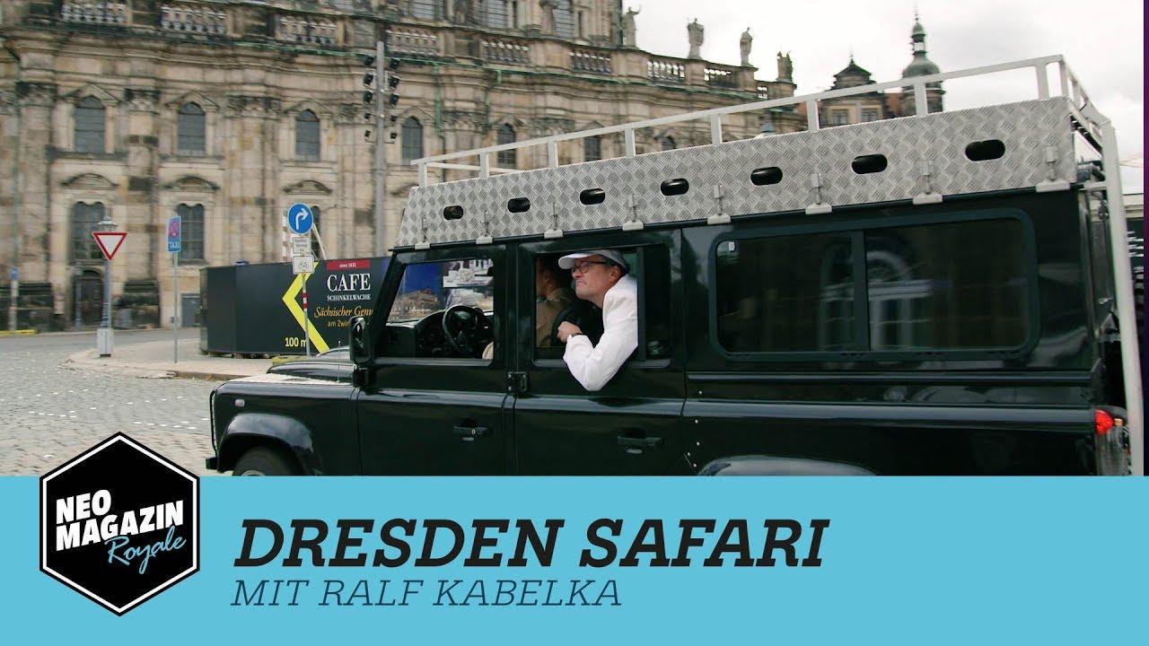 Dresden Safari mit Ralf Kabelka | Neo Magazin Royale mit Jan Böhmermann - ZDFneo