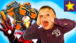 Развлечение для детей. Машины и Роботы. Video for kids about robots(Привет, ребята! В этой серии Игорюша посещает музей Восстания машин, в котором представлены Роботы Миньоны,..., 2016-01-27T08:21:59.000Z)