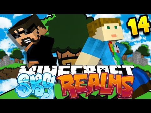 Minecraft: SKYREALMS | GETTING ALL THE HEADS!! [14]