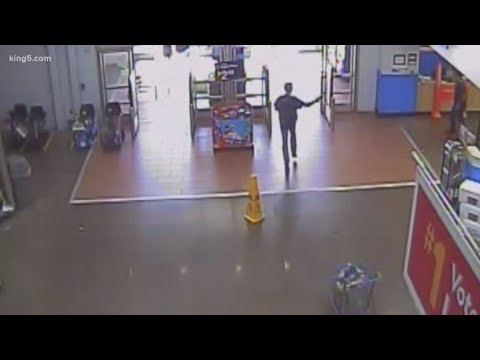 Walmart Shooting Surveillance Footage