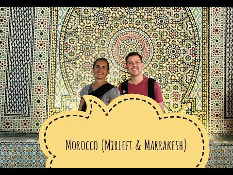 MOROCCO (MAROKO) 2017, Mirleft & Marrakesh, bilingual vlog (English & Polish)