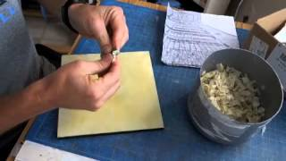 Smoothing the beeswax RLP#2