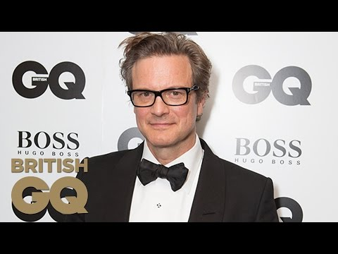 Colin Firth Accepts The Leading Man Award | Men Of The Year Awards 2014 | British GQ