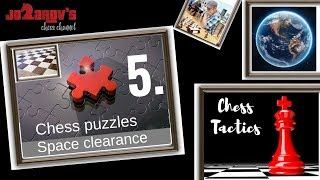 Chess tactics - Chess puzzles - Space clearance