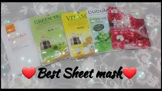 How To Use Sheet Mask |Korean Sheet Masks|Korean Skincare Sheet Masks review|Malie Sheet Mask