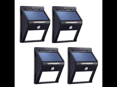 The Top 3 Best Solar Motion Detector Lights To 2017 Reviews