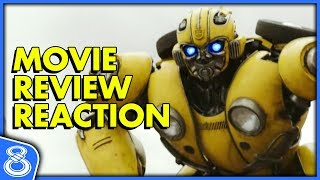 Bumblebee Movie Review Reaction!