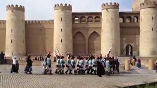 Los Sitios de Zaragoza Combates en Castillo de la Aljafería, Recreación Histórica