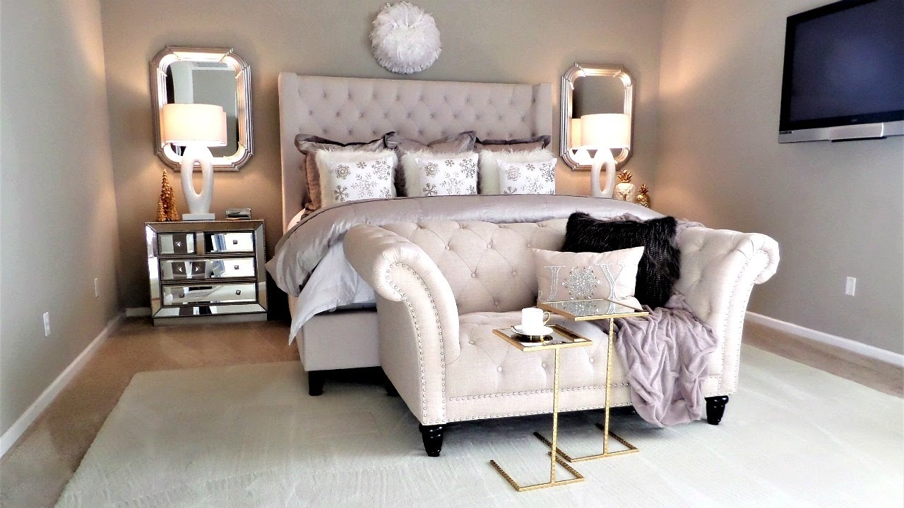 NEW! Luxury Master Bedroom Tour and Decor Tips & Ideas - YouTube