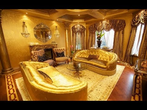 Luxury Room : Gold Living Room Paint Color Ideas 2018