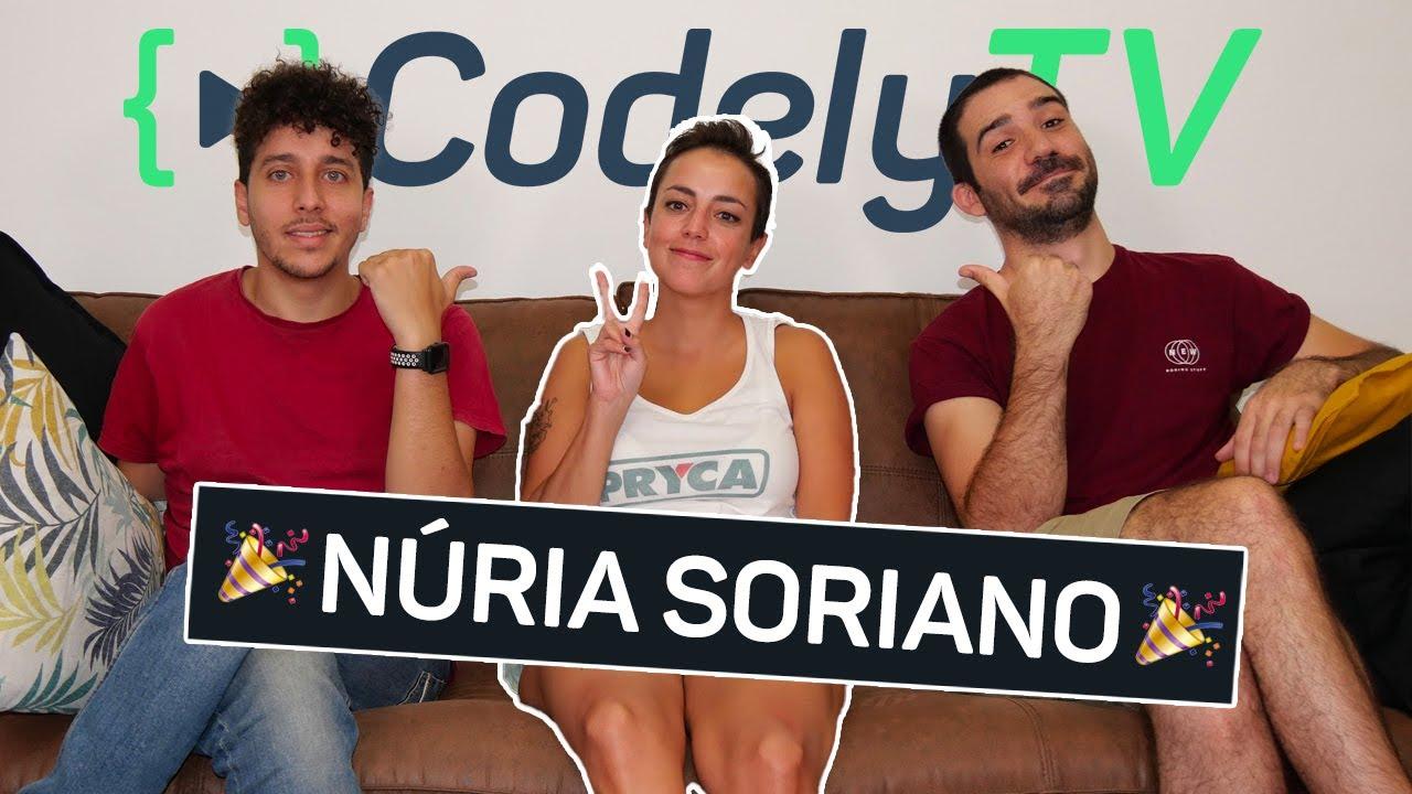 Os presentamos a Núria, Frontend Category Lead de Codely 🎉