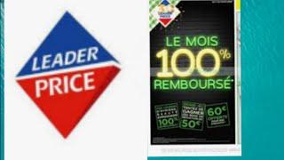 Leader Price 100 % rembourser