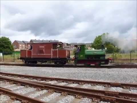 """Teddy"" the 0--4--0 Pug 2012  Locomotive  at N.R.M. Shildon 2/7/16"