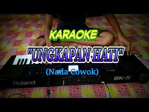 Ungkapan Hati nada cowok Karaoke Roland Bk5