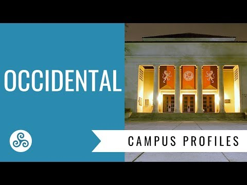 Occidental College - campus visit and overview by American College Strategies