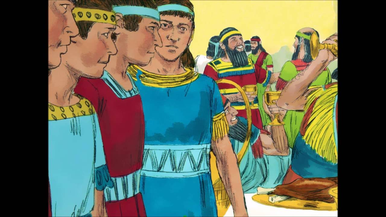 daniel in babylon refuses the king u0027s meat and wine story of
