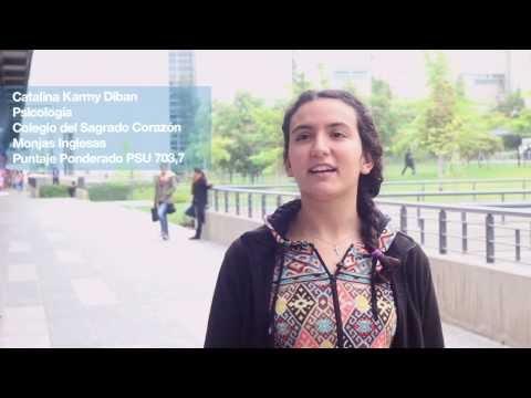 Catalina Karmy, alumna de Psicología UDD