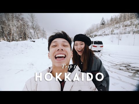 SEEING SNOW FOR THE FIRST TIME | Hokkaido Vlog