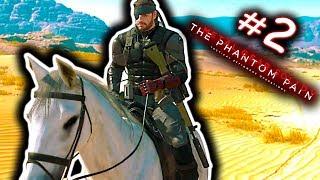 "Metal Gear Solid 5 Phantom Pain HINDI Gameplay Walkthrough Part 2 (PS4) ""PHANTOM LIMBS"""