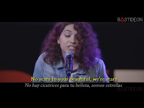 Alessia Cara - Scars To Your Beautiful (Sub Español + Lyrics)