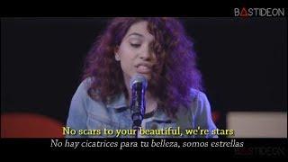 Скачать Alessia Cara Scars To Your Beautiful Sub Español Lyrics