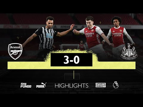 Arsenal 3 Newcastle United 0 | Premier League Highlights