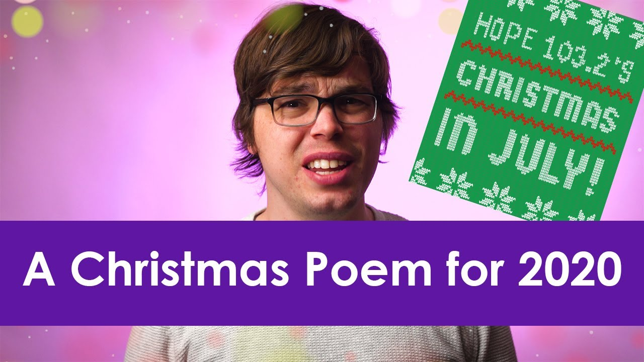 A Christmas Poem For 2020 From Hope 103 2 Youtube Another new poem by lia licht…it is always so good to receive such honest here is a poem for the pandemic. a christmas poem for 2020 from hope 103 2