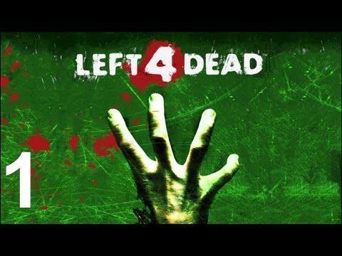 Left 4 Dead Co-op Walkthrough - Part 1 Blood Harvest